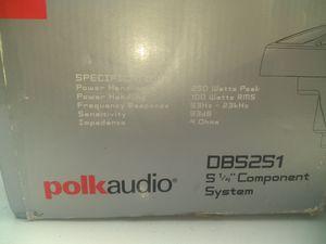 Polk Audio Speaker Component System for Sale in Atlanta, GA