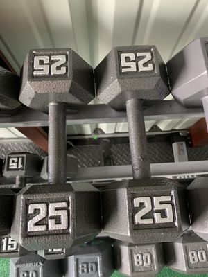 New Set of 25LBS Steel Dumbbells for Sale in Pepper Pike, OH