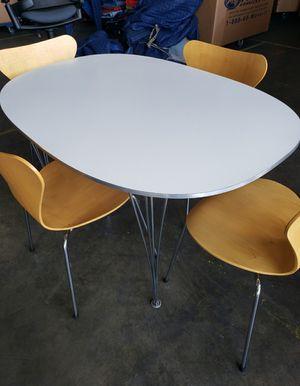 Fritz Hansen Elliptical Dining Table for Sale in La Habra Heights, CA