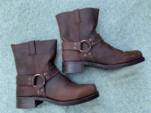 BROWN LEATHER FRYE BOOTS for Sale in Manhattan Beach, CA