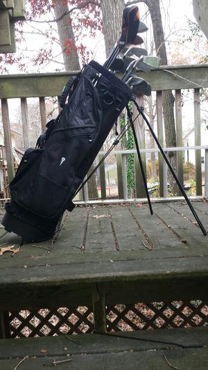 Black Diamond Golf Bag and Clubs for Sale in Fairfax, VA