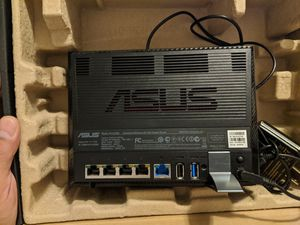 ASUS RT-AC56U AC1200 Dual Band WiFi Gigabit Router for Sale in Dallas, TX