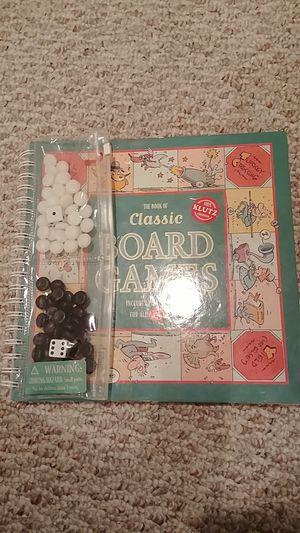 The Book of Classic Board Games for Sale in Nokesville, VA