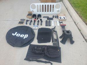 Jeep wrangler 2015 parts for Sale in Orlando, FL