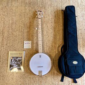 Deering Goodtime Open Back Banjo w Case, Book, Strings for Sale in Seattle, WA