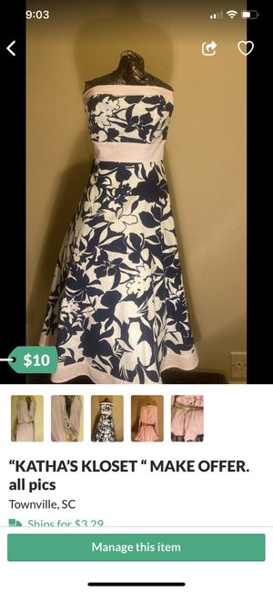 """""""KATHA'S KLOSET """" my closet must go! for Sale in Townville, SC"""