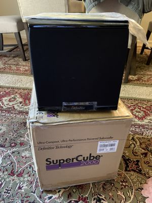 SuperCube 2000 Subwoofer for Sale in Chicago, IL