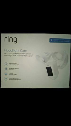 New Ring Floodlight Security Camera Flood Light 1080 for Sale in Orange, CA