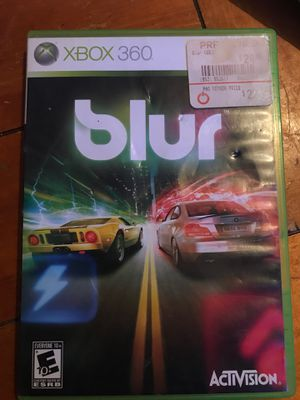 Blur Game Xbox 360 for Sale in Irving, TX
