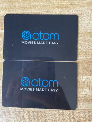 Atom movie tickets for Sale in Wrightsville, PA