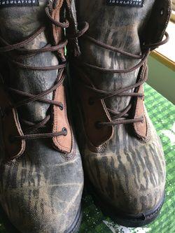 "Pro Line H900BU ""Whisper"" Boots Hunting Camouflage Cordura Fabric Men's Size 12 for Sale in Yakima,  WA"
