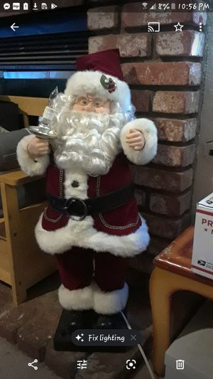 3 foot vintage Santa clause lights music and movement for Sale in Hesperia, CA