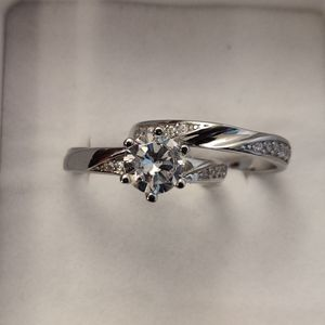 SET OF 2 SILVER & CUBIC ZIRCONIA RINGS for Sale in Phoenix, AZ