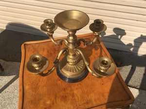 Brass candelabra for Sale in Whittier, CA