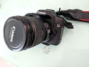 Canon EOS 40D and Canon lense EF 28-135 mm for Sale in Buffalo Grove, IL
