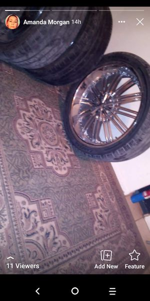 24inch 6 lug universal for Sale in San Angelo, TX