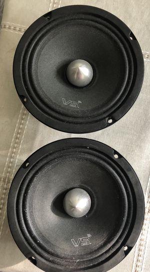 "2 Menace 6.5"" High SPL Voice Speakers 500 Watts for Sale in West Deptford, NJ"