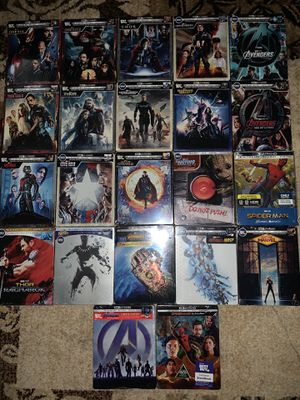 Marvel Cinematic Universe COMPLETE Saga on Steelbook for Sale in Houston, TX