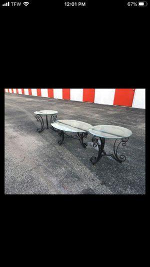 Coffee table set for Sale in Tamarac, FL
