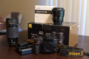Nikon D750 camera and lenses for Sale in San Diego, CA