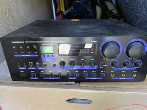 Vocopro DA-8909RV 360W Professional Digital Key Control Mixing Amplifier w/ Vocal Enhancer for Sale in Honolulu, HI