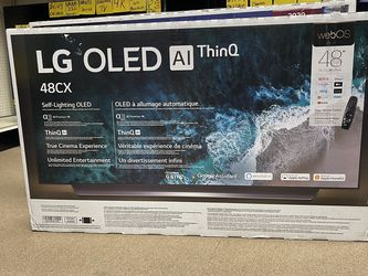 "LG OLED 48"" CX SERIES Smart Tv 4K 120Hz webSO Model OLED48CXPUB On Sale Gaming G-SYNC for Sale in Duluth,  GA"
