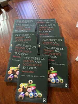 Case Studies on Diversity and Social Justice 2nd Edition P. Gorski / S. Pothini price for 1 for Sale in Industry, CA