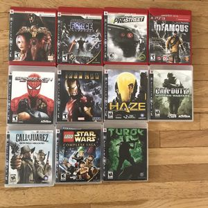 Ps3 Games for Sale in Redondo Beach, CA
