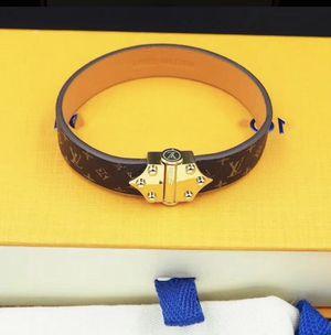 Custom hand made designer monogram bracelet Unisex for Sale in New York, NY