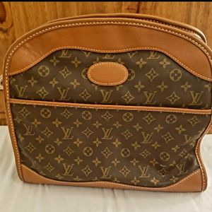 Authentic, 1970's Vintage Louis Vuitton The French Company Carry On Travel Bag Monogram Canvas for Sale in Phoenix, AZ