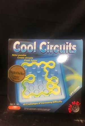 Science Wiz - Cool Circuits Puzzle Game. for Sale in Irvine, CA