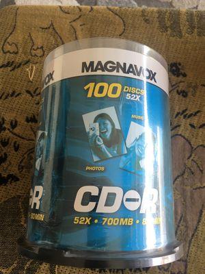 MAGNAVOX CD-R 100 pack for Sale in Boca Raton, FL