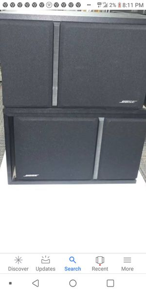 2 Bose 301 series III speakers tested and working for Sale in St. Louis, MO
