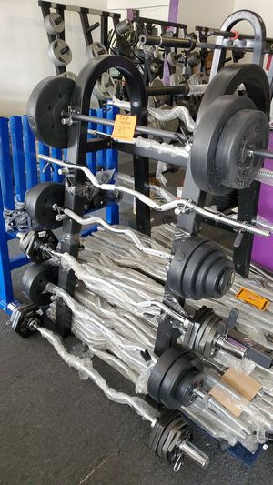 Curl bar set for Sale in South Gate, CA