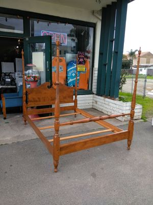 Full Size Bed Frame Headboard Footboard for Sale in Escondido, CA
