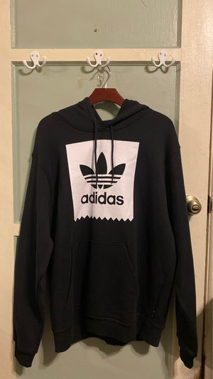 Adidas black hoodie size L for Sale in Ontario, CA