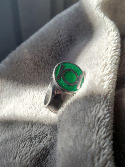 DC Comics Official Green Lantern Ring (Size 14) for Sale in Orange,  CA
