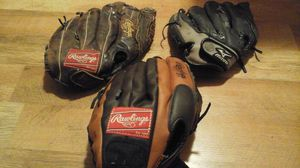 Rawlings Baseball Gloves for Sale in Clinton Township, MI