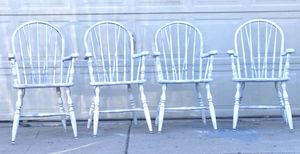 Antique set of 4 chairs for Sale in Tucson, AZ