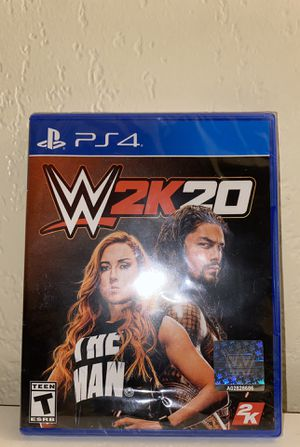 Selling My Brand New WWE 2K20 PS4 All I'm Asking For Is $47 Bucks. for Sale in San Diego, CA