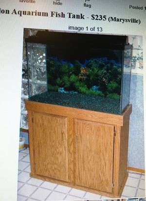 45 gallon Fish Tank for Sale in Marysville, WA