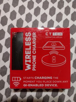 Wireless phone charger for Sale in Houston, TX