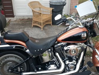 2008 Harley Fatboy 105 Th Anniversary... for Sale in Dickinson,  TX