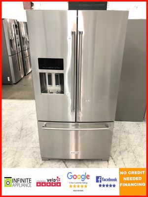 KitchenAid French Door Refrigerator - 28 cubic - Stainless Steel for Sale in San Jose, CA