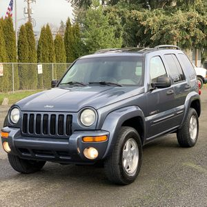 Jeep Liberty 4x4 2002 Limited Edition for Sale in Lakewood, WA
