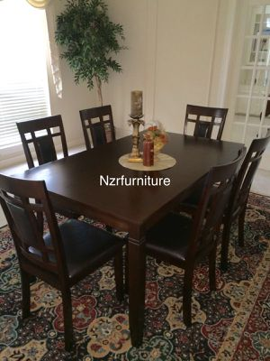 "New 7-PC Breakfast Kitchen Dining Table Set ""FIRE SALE"" for Sale in Missouri City, TX"