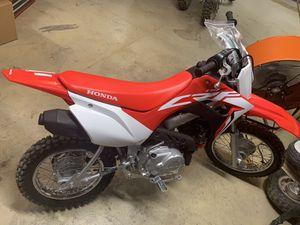 2021 Honda Crf110 NEW never used pit bike 110 for Sale in Las Vegas, NV