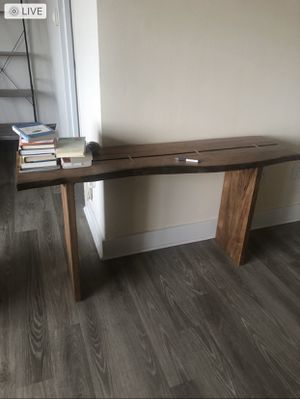 Gorgeous Raw Edge Console Table for Sale in Arlington, VA