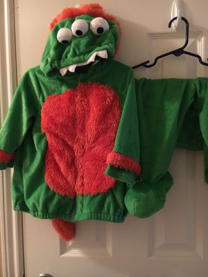 Gymboree boy monster/dinosaur costume 12-18 months for Sale in Spring, TX