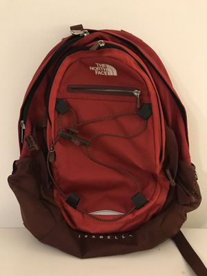 The North Face Isabella Backpack -Red for Sale in West Los Angeles, CA